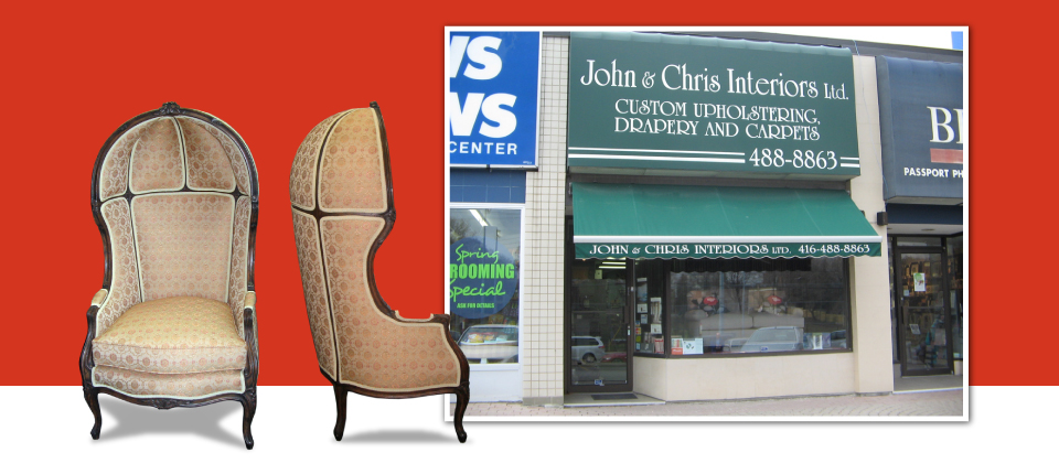two chairs and storefront